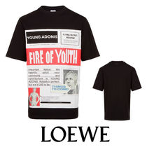 17AW☆LOEWE☆TシャツFire Of Youth Poster