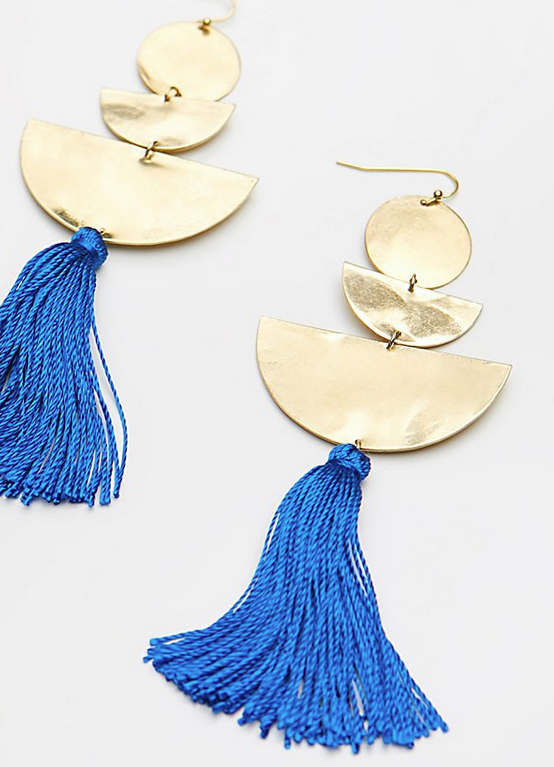 【送料込み】Free People ★ Bryce Canyon Tassel ピアス