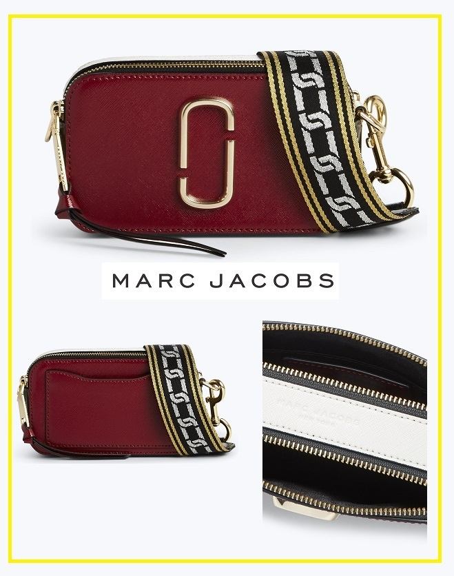 大人気!Snapshotバッグ【DEEP MAROON/GRAPHITE】☆MARC JACOBS
