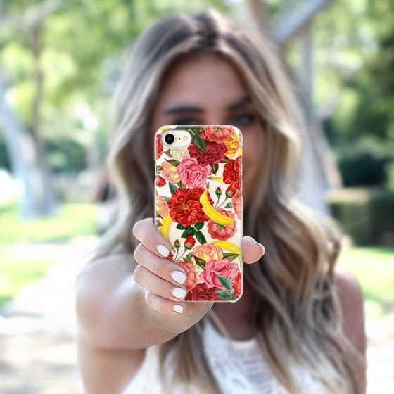 大人気☆Casetify iPhone6/7/8 スナップケース TROPICAL FOREST