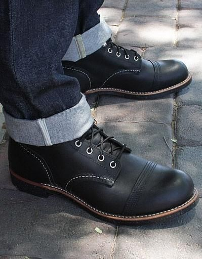 RED WING Haritage Boots 6-INCH IRON RANGER NO. 8114