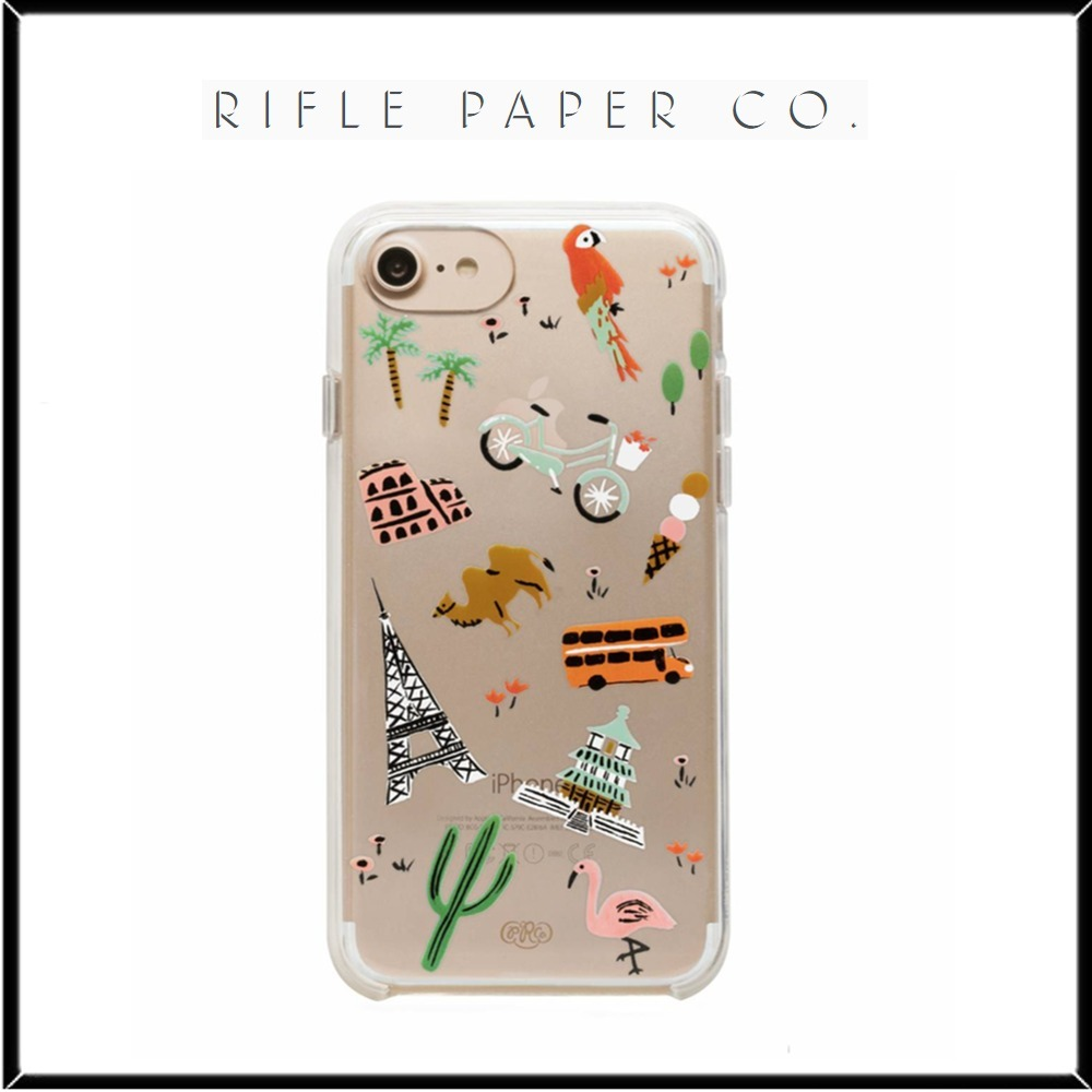 国内発★Rifle Paper.Co★iPhone 6, 7, 8&Plusケース♡
