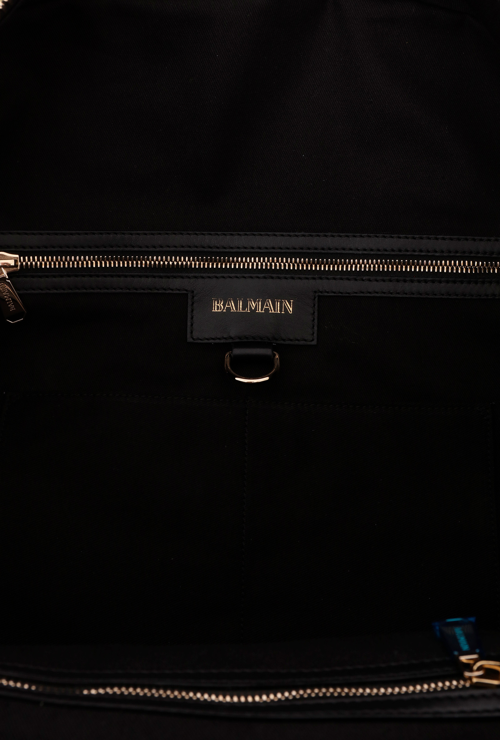 17AW新作◆BALMAIN◆DOMAINE QUILTED LEATHER BOSTON BAG