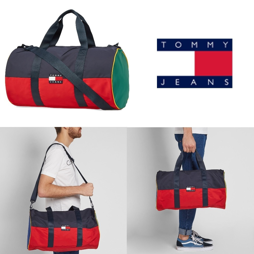 Tommy Jeans *ボストンバッグ*★90s Duffle Bag★ロゴ ダッフル