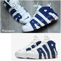 ●NIKE●AIR MORE UPTEMPO'96  WHITE/DEEP ROYAL BLUE モアテン