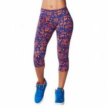 ☆ZUMBA・ズンバ☆City Swag Perfect Capri Leggings SB