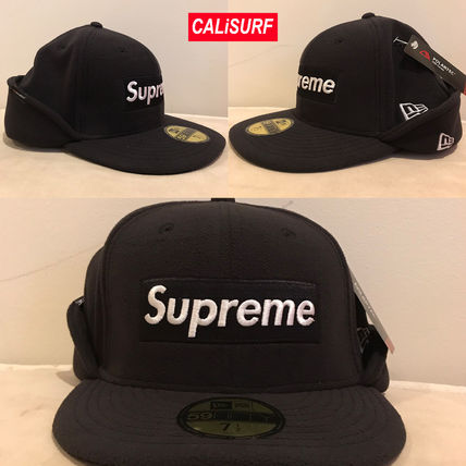 Supreme キャップ AW17 Supreme(シュプリーム)polartec Ear Flap NewEra/Blk/8