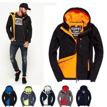 Superdry★人気!Hooded SD-Windtrekker Jacket全6色 黒/オレンジ
