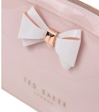 TED BAKER ポーチ TED BAKER Abbie Curved Bow Large Wash Bag 大きめリボンポーチ(2)