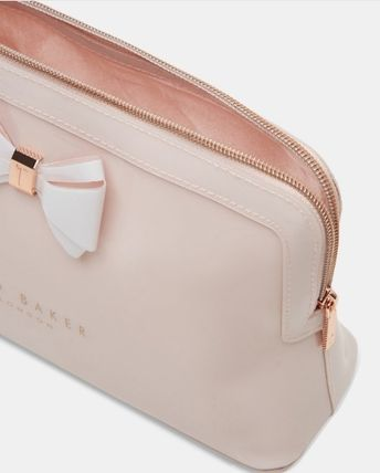 TED BAKER ポーチ TED BAKER Abbie Curved Bow Large Wash Bag 大きめリボンポーチ(6)
