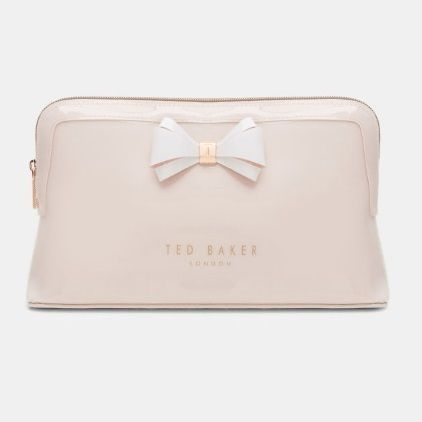 TED BAKER ポーチ TED BAKER Abbie Curved Bow Large Wash Bag 大きめリボンポーチ(8)