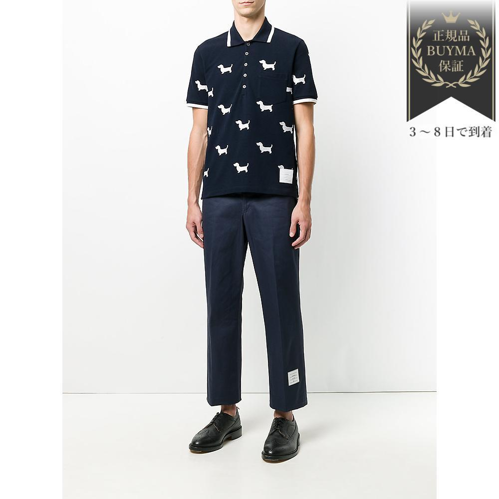 THOM BROWNE▼Thom Browne x Colette ヘクター ポロシャツ
