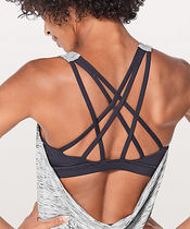 Free To Be Serene Tank (2 In 1)-Tiger Space Dye Black White