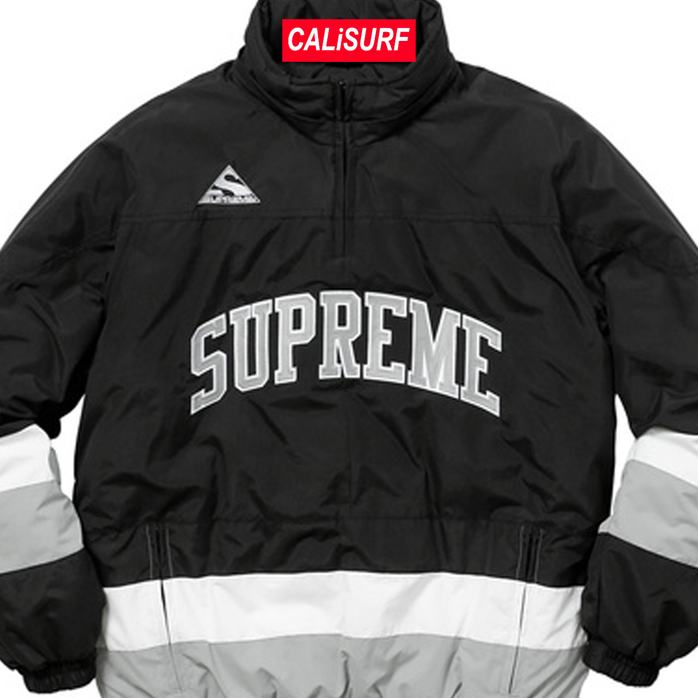 AW17 Supreme(シュプリーム)putty hockey pullover/ black/S