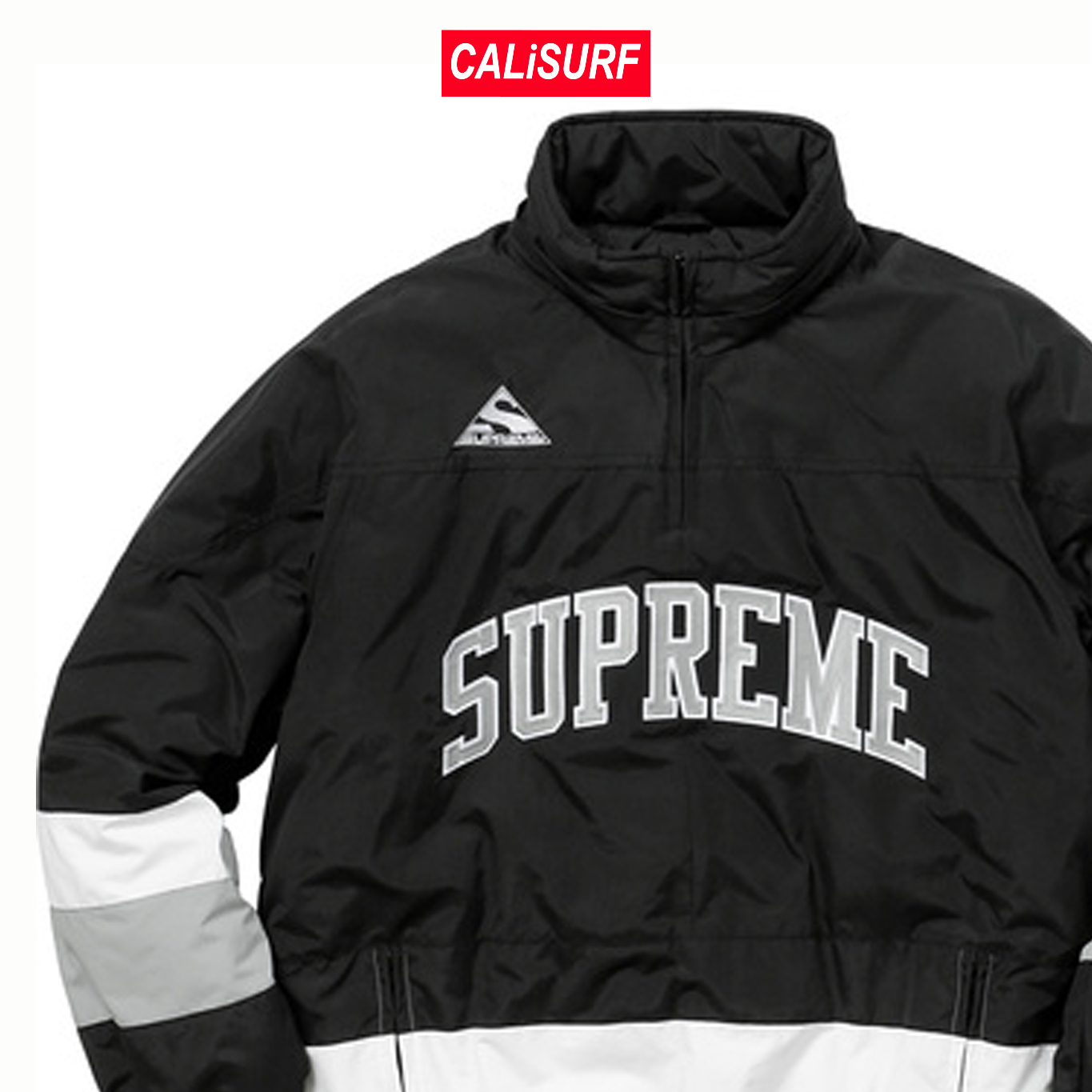 AW17 Supreme(シュプリーム)putty hockey pullover/ black/M-XL