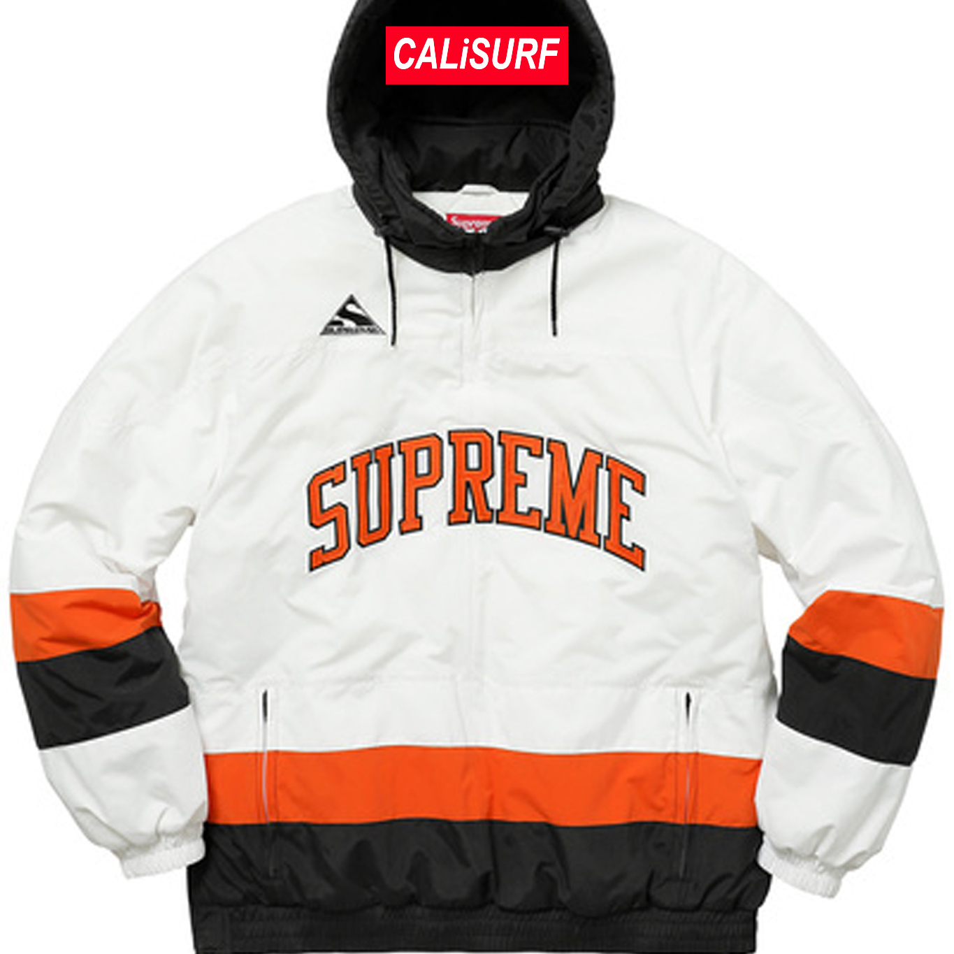 AW17 Supreme(シュプリーム)putty hockey pullover/WHITE/S
