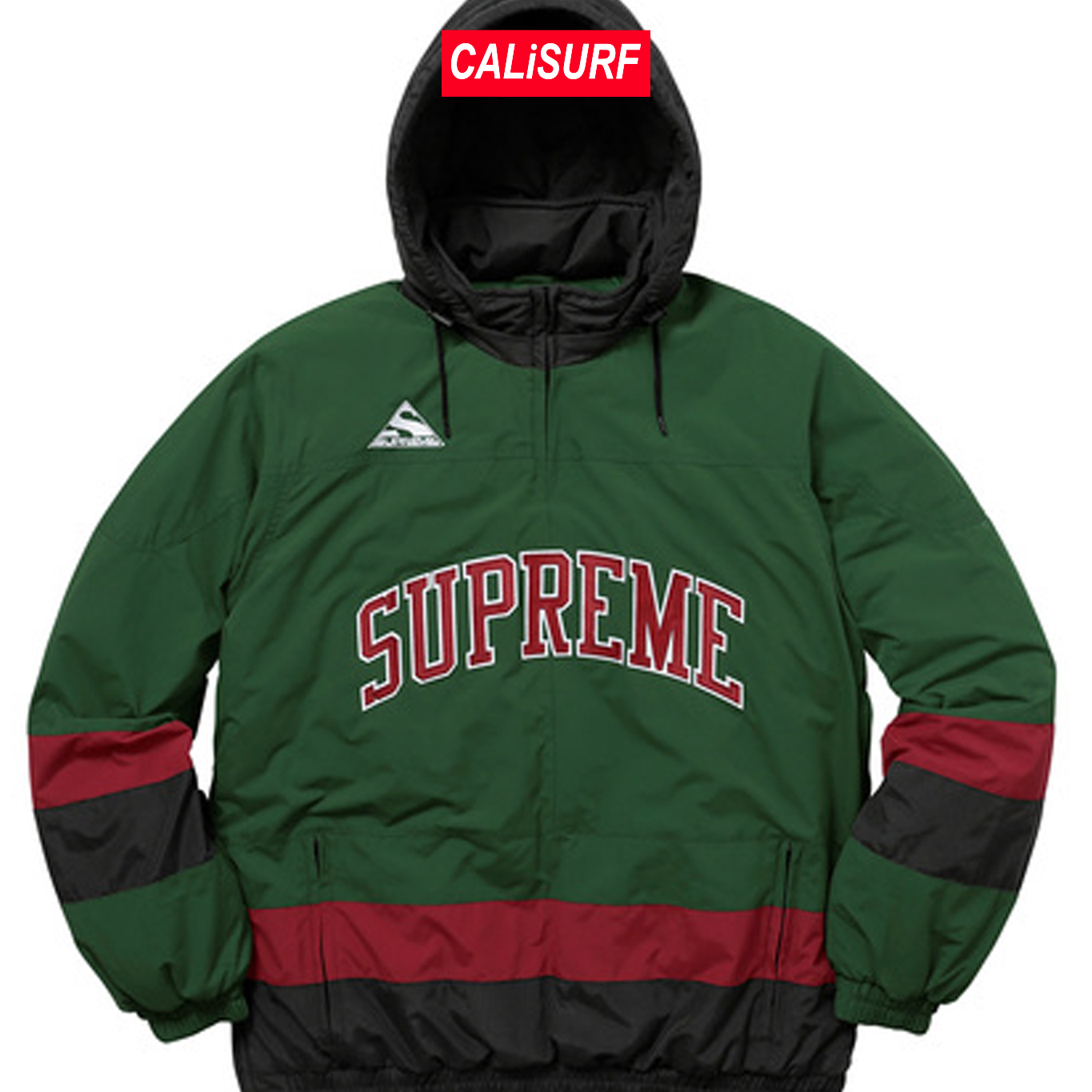 AW17 Supreme(シュプリーム)putty hockey pullover/GREEN/S