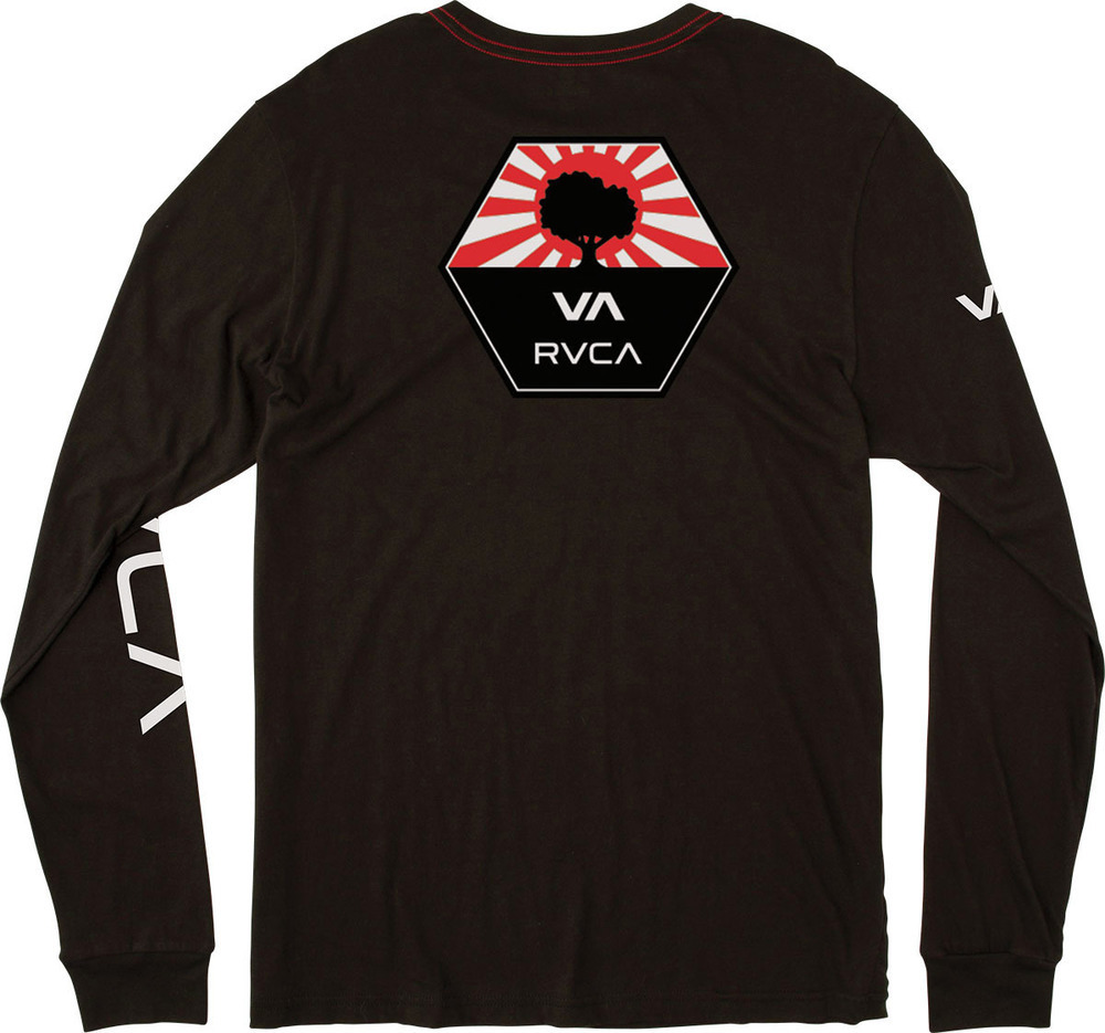 ☆2017-18AW☆ RVCA/限定!!! BRUCE IRONS LONG SLEEVE T-SHIRT