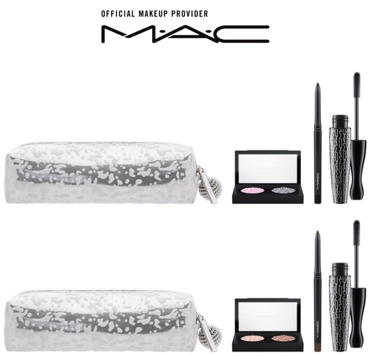 2017クリスマスコフレ【MAC】MAC Snowball Eye Bag