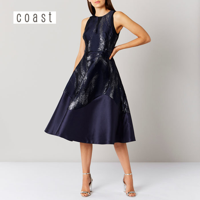 【Coast】Purity Jacquard ドレス