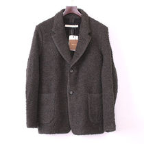 16AW Honor gathering  WOOL COTTON FUNNY RETRO PILE JACKET S