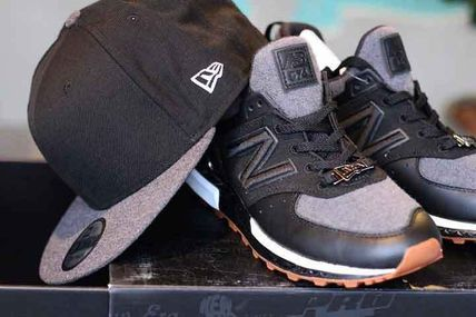 new product 9c0e2 08d2a NEW ERA x NEW BALANCE 574 SPORT ニューエラ キャップとコラボ