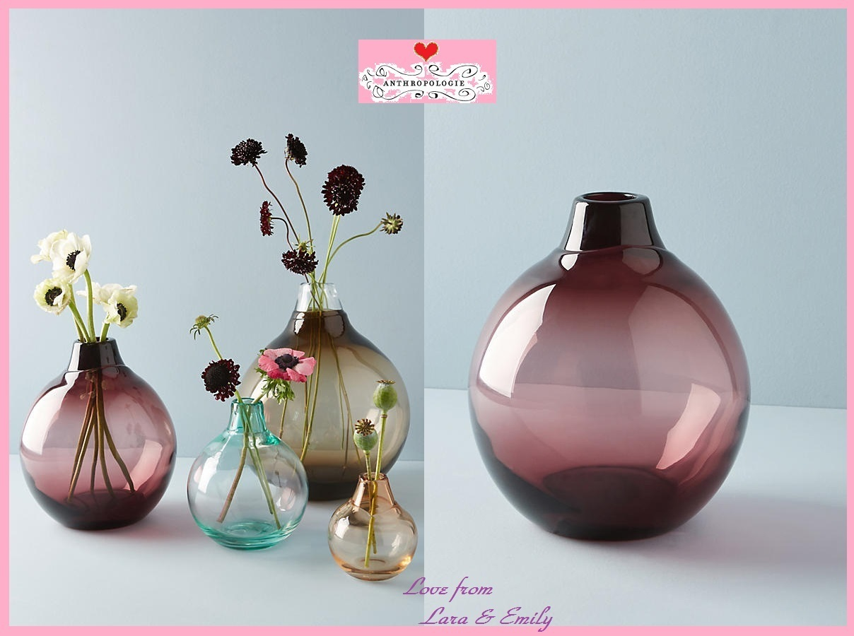 18AW☆最安値保証*関税送料込【Anthro】Translucent Bubble Vase