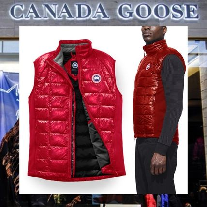 【17AW NEW】 CANADA GOOSE_men /HyBridge Lite /ベストRD&BK
