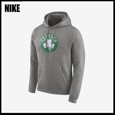 (ナイキ)Boston Celtics Nike NBA フーディ Gray 881115-063