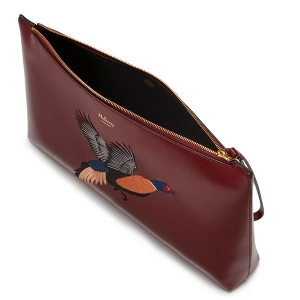 Mulberry☆Large Pouch Squirrel(リス) Pheasant(キジ)