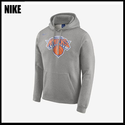 (ナイキ) New York Knicks Nike NBA フーディ Gray 881151-063