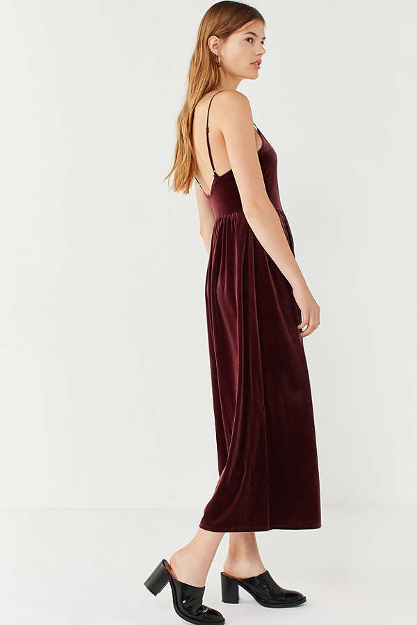 【URBAN OUTFITTERS】●日本未入荷●Velvet Jumpsuit