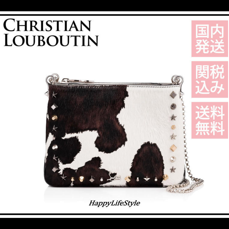 Triloubi スモール チェーン バッグ*Christian Louboutin