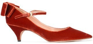 【17AW】大人気!!★Rochas★rear bow pumps
