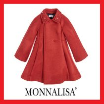 大人OK!! MONNALISA★Traditional Red コート 2-16Y★関税込
