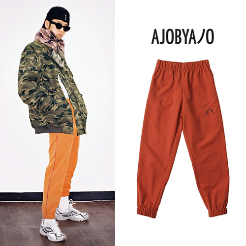 ★AJO AJOBYAJO★日本未入荷/Solid Jogger Pants(OR)
