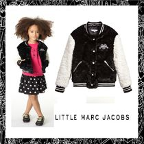 大人OK!! Little Marc Jacobs★Black Varsityジャケット★2-14Y