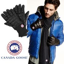Canada Goose スマホもサクサク Northern Glove Linerメンズ手袋