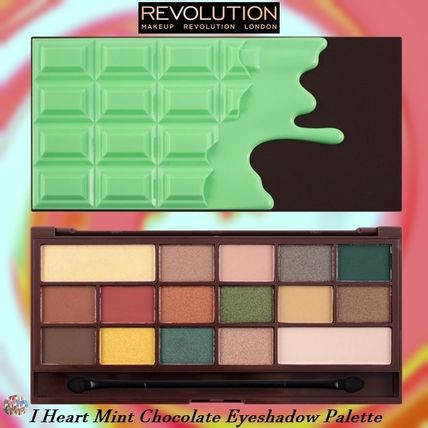 MAKEUP REVOLUTION アイメイク MAKEUP REVOLUTION☆I Heart Mint Chocolate Eyeshadow  Palette