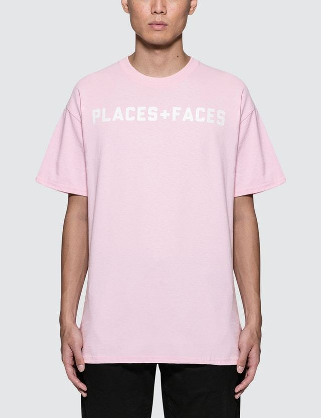 17AW新作 PLACES+FACES ロゴプリントTシャツ