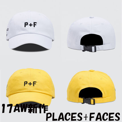 17AW新作 PLACES+FACES ロゴキャップ