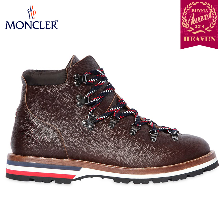 TOPセラー賞受賞!17/18秋冬┃MONCLER★BOOTS_ブラウン
