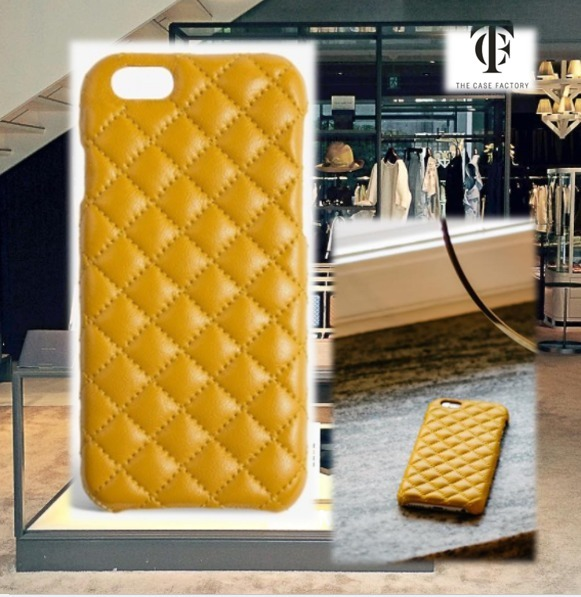 THE CASE FACTORY★IPHONE6 / 6S QUILTED NAPPA ケース