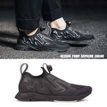 REEBOK★PUMP SUPREME ENGINE★25.5~28cm★ブラック