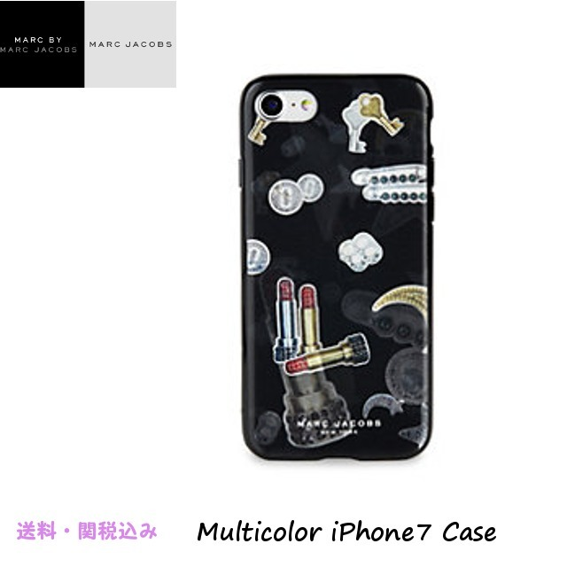Marc Jacobsマークジェイコブス★Multicolor iPhone7ケース