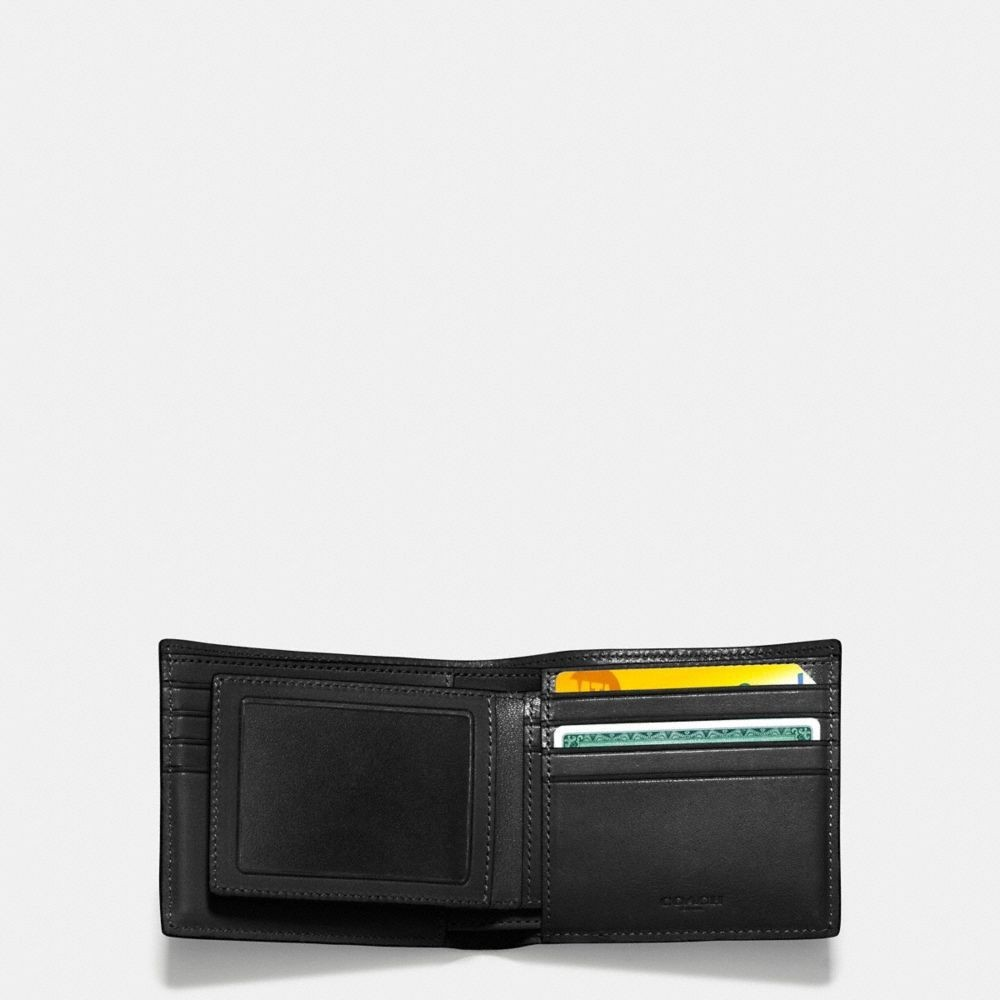 "関税込""Coach""compact id wallet in sport calf メンズ 財布"