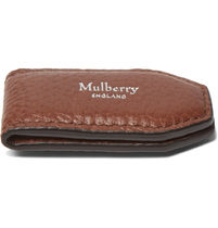 【VIPセール】Mulberry★Full-Grain レザー マネークリップ Tan