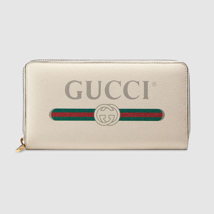 hot sale online 493e7 fff53 GUCCI☆80's ヴィンテージ・ロゴ/新作ジッピー財布【ホワイト】