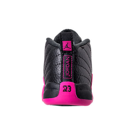 FW17 AIR JORDAN RETRO 12 DEADLY PINK TD 10-16cm 送料無料
