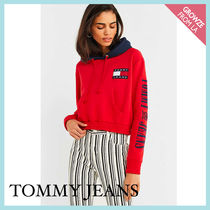 【Tommy Jeans】新作☆ コントラスト TOMMY フーディ ☆